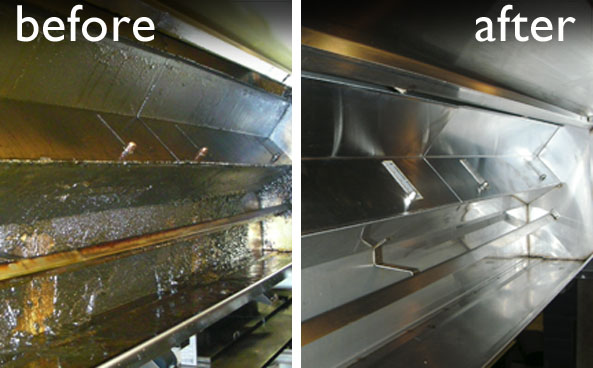 Kitchen exhaust maintenance